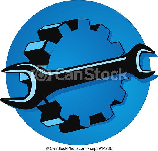 Famosos Mecanica, engenharia estoque de ilustração - Faça Busca em Clip  ZO75
