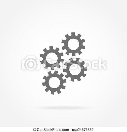 icono de mecanismo - csp24576352