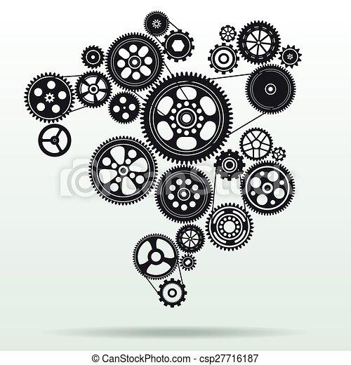 Mecanismo de marcha atrás - csp27716187