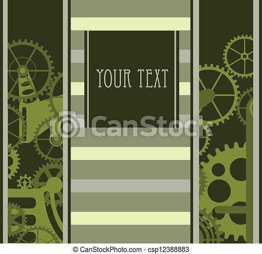 Mecanismo verde - csp12388883