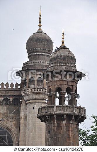 Mecca Masjid in Hyderabad - csp10424276