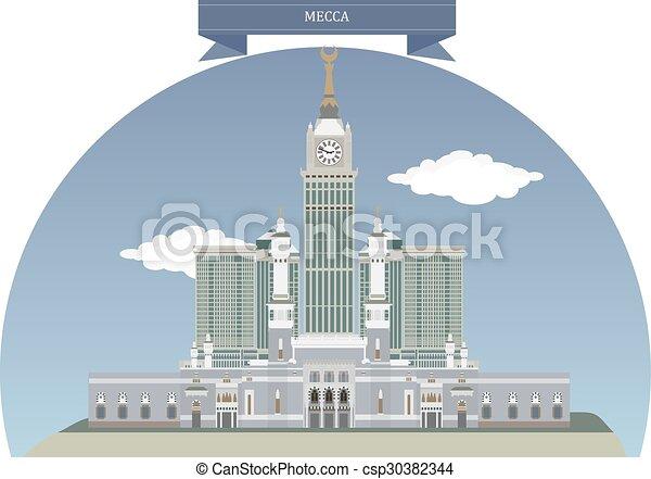 Mecca, Saudi Arabia - csp30382344