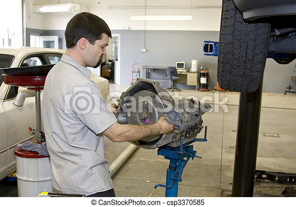 Mechanic working - csp3370585