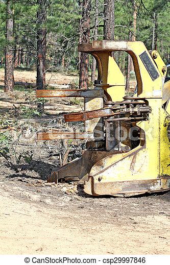 Mechanical Axe cutting machine - csp29997846