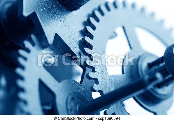 mechaniczny, przybory, zegar - csp1690594