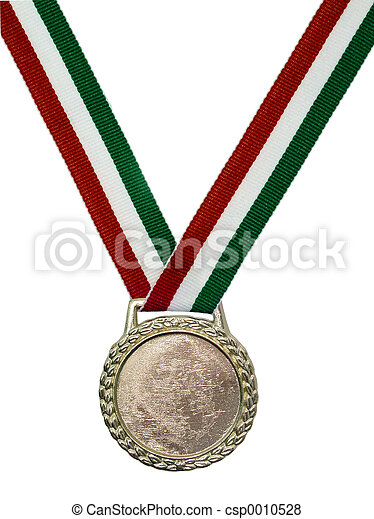 Medal (red green) - csp0010528