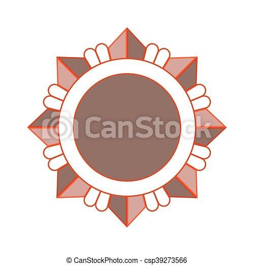 Estrella de bronce - csp39273566