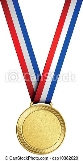 Medalla de oro - csp10382620