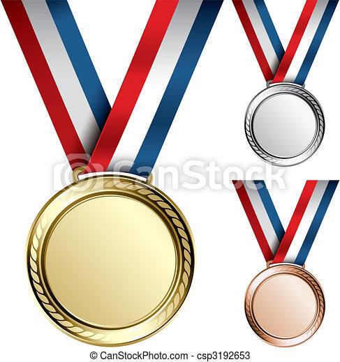 Medals - csp3192653