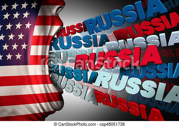 media, amerikan, besatthet, ryssland - csp48051738