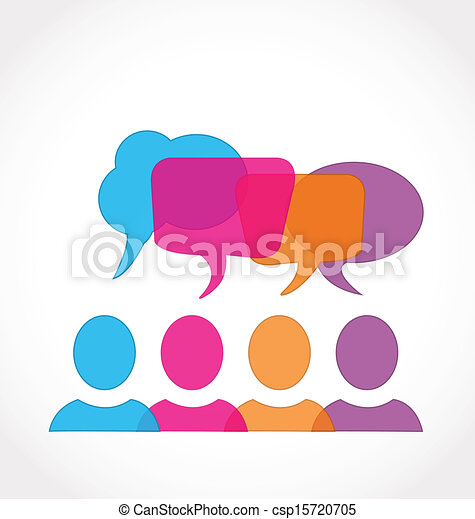 media, bellen, toespraak, netwerk, sociaal - csp15720705