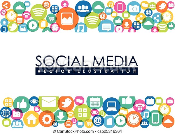 media, sociaal - csp25316364