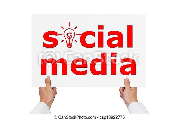 media, towarzyski - csp13922776