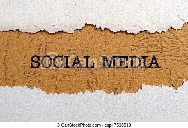 media, towarzyski - csp17538513