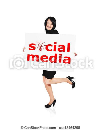media, towarzyski - csp13464298