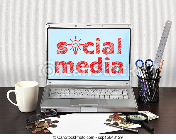 media, towarzyski - csp15643129