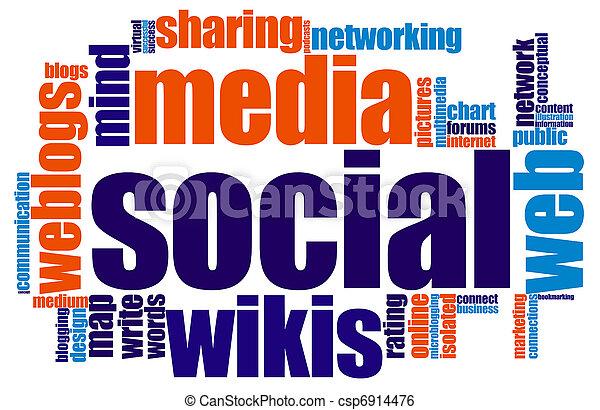 media, towarzyski - csp6914476