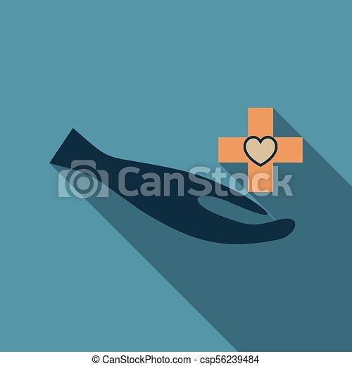 Medic Clean Logo Template Design Vector - csp56239484