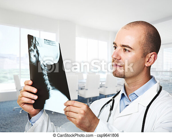 medic portrait - csp9641806