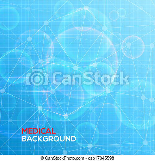 Medical abstract background. - csp17045598