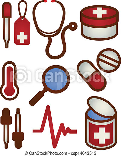 Medical and Health care Icon - csp14643513