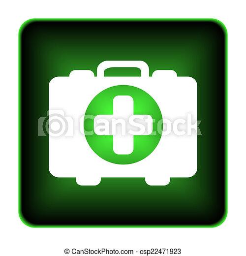 Medical bag icon - csp22471923