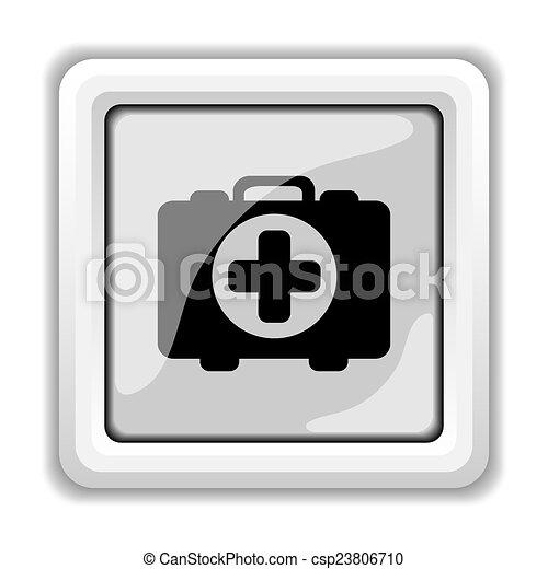 Medical bag icon - csp23806710