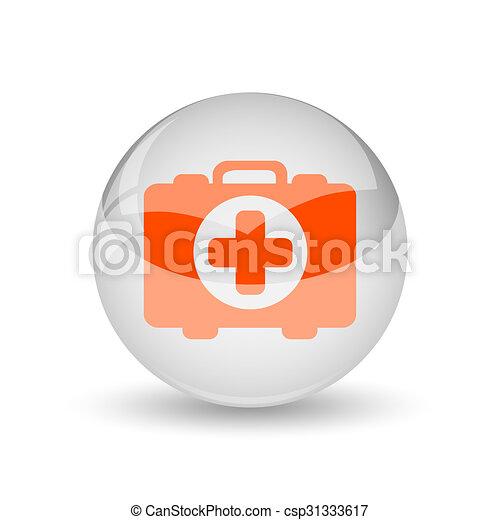 Medical bag icon - csp31333617