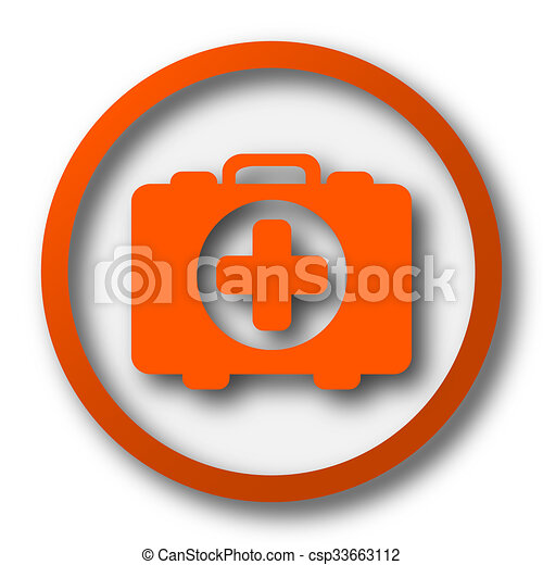 Medical bag icon - csp33663112