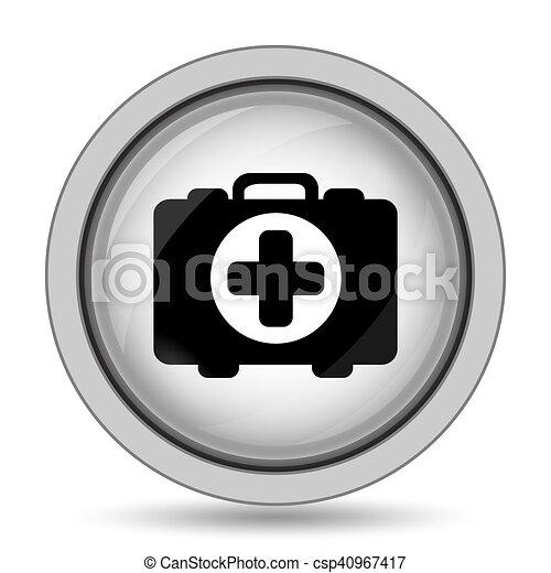 Medical bag icon - csp40967417
