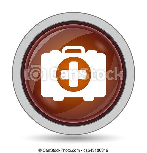 Medical bag icon - csp43186319