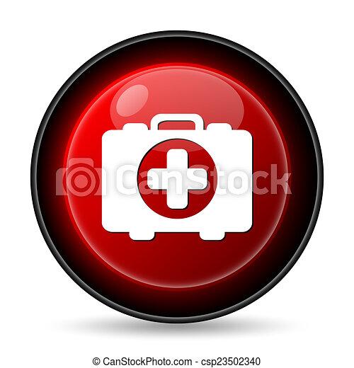 Medical bag icon - csp23502340
