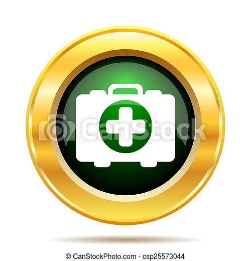Medical bag icon - csp25573044