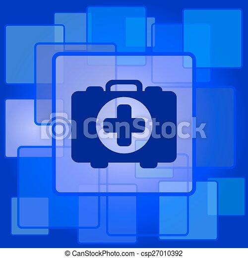 Medical bag icon - csp27010392