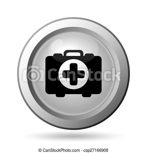 Medical bag icon - csp27166908