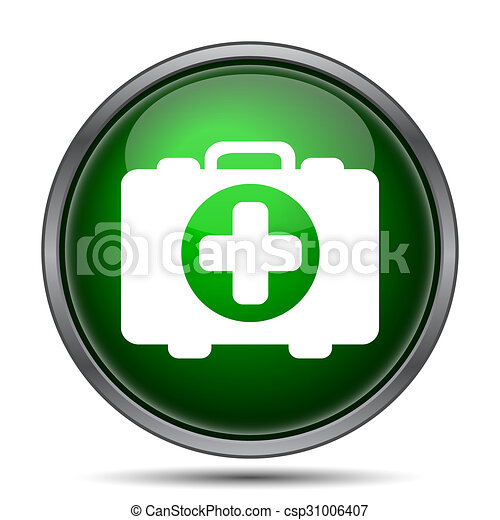 Medical bag icon - csp31006407
