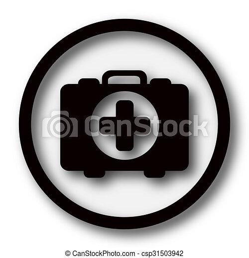 Medical bag icon - csp31503942