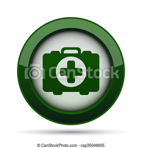 Medical bag icon - csp35046605