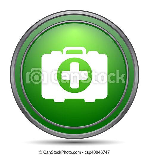 Medical bag icon - csp40046747