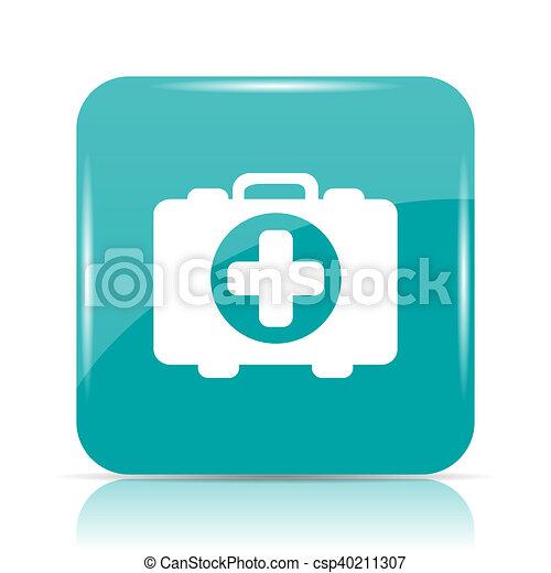 Medical bag icon - csp40211307