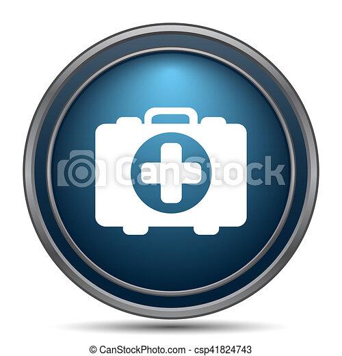 Medical bag icon - csp41824743