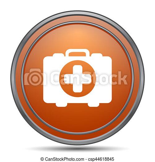 Medical bag icon - csp44618845