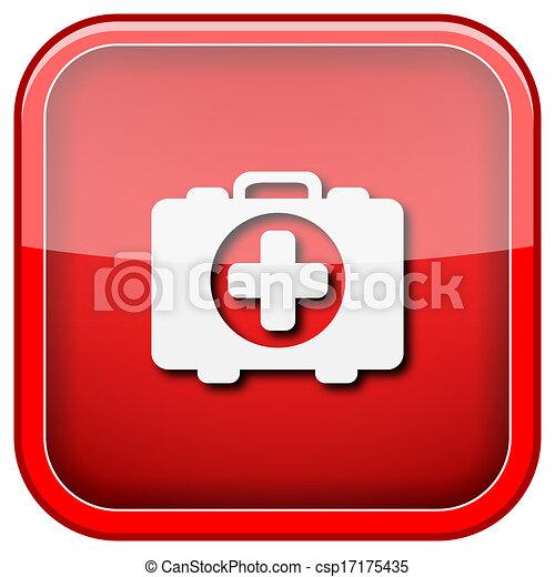 Medical bag icon - csp17175435
