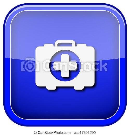 Medical bag icon - csp17501290