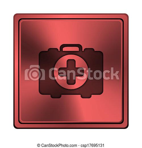 Medical bag icon - csp17695131