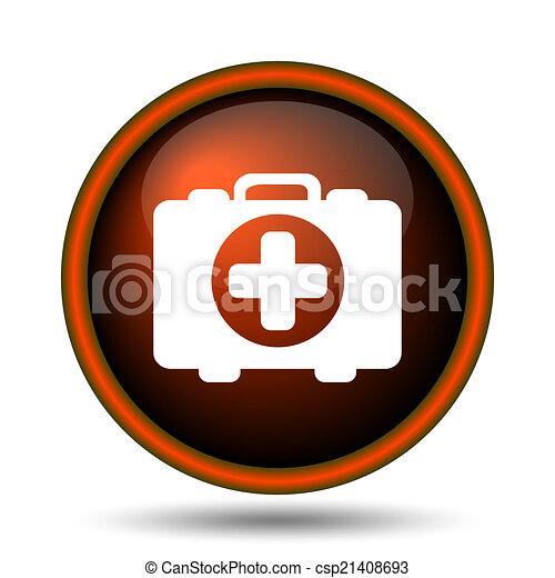 Medical bag icon - csp21408693