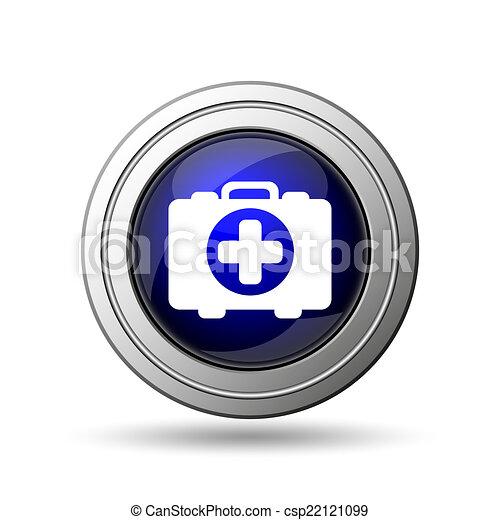 Medical bag icon - csp22121099