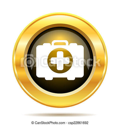 Medical bag icon - csp22861692
