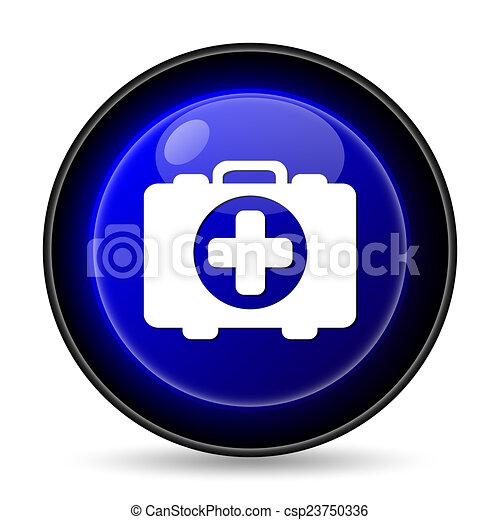 Medical bag icon - csp23750336