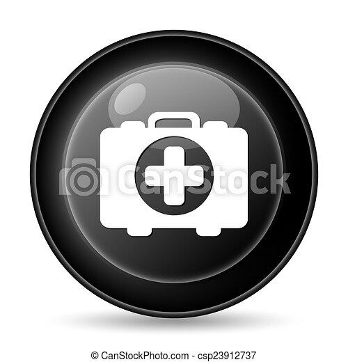 Medical bag icon - csp23912737